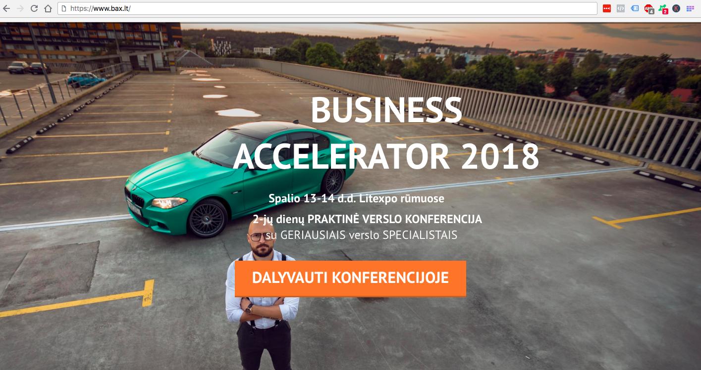 Business Accelerator 2018