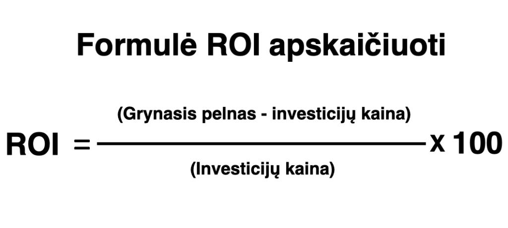 ROI-formule