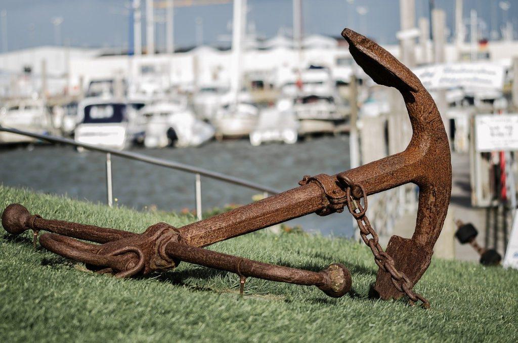 anchor - nuorodos teksto metafora